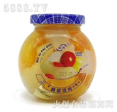 晶海什锦水果罐头225克