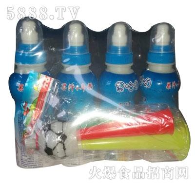 果哈呦儿童玩具果汁牛奶