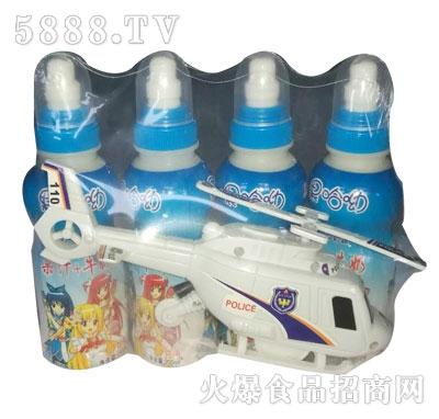 果哈呦玩具飞机果汁牛奶200mlX4瓶