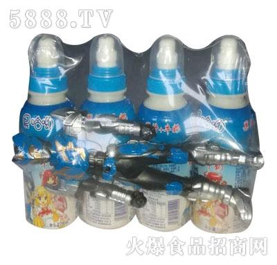 果哈呦玩具果汁+牛奶200mlX4瓶