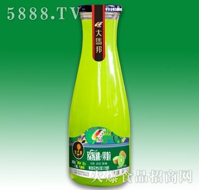 大马邦生榨猕猴桃+果粒果汁1L产品图