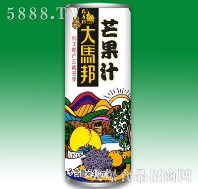 大马邦芒果汁饮料240ml