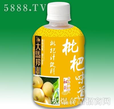 大马邦枇杷味道枇杷汁饮料350ml