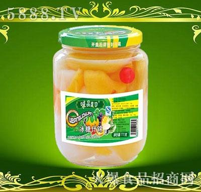 味品果园冰糖什锦罐头770g