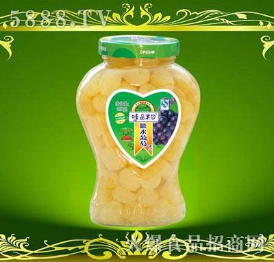 味品果园糖水葡萄罐头968g
