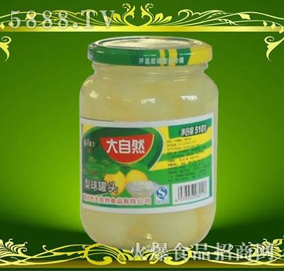 沂蒙大自然梨球罐头510g