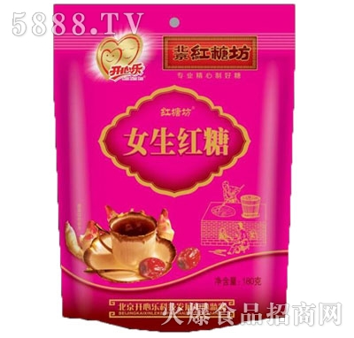 开心乐女生红糖180g(11小袋)