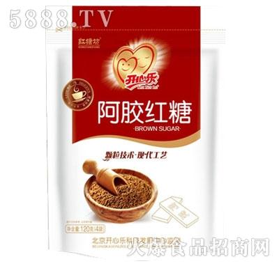 开心乐红糖坊阿胶红糖120g(4袋)