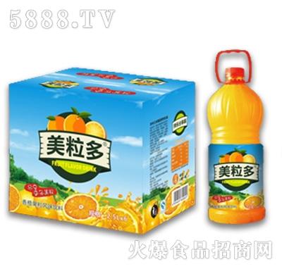 2.5Lx6美粒多香橙果粒风味饮料
