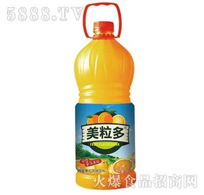 2.5L美粒多香橙果粒风味饮料