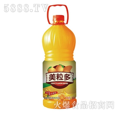 2.5L美粒多芒果果粒风味饮料
