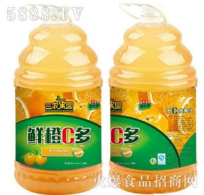 三农果园鲜橙C多果汁