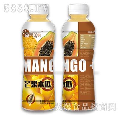 500ml森果印象芒果木果饮料