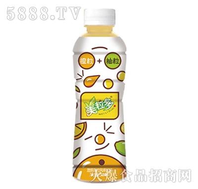 500ml美粒多橙粒+柚粒饮料