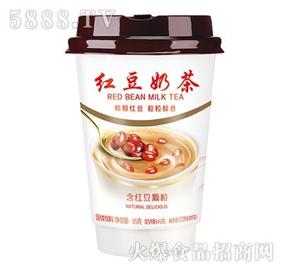 佳因美高杯红豆奶茶(含红豆颗粒65克)产品图
