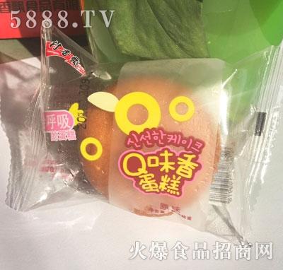 村香飘Q味香蛋糕原味称重