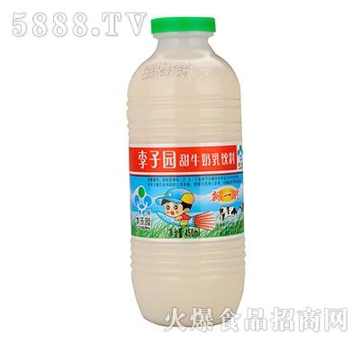 李子园甜牛奶450ml
