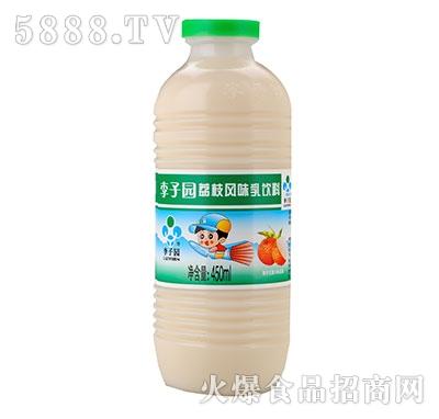 李子园甜牛奶荔枝味450ml