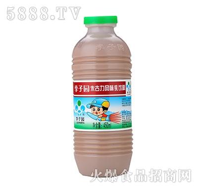 李子园甜牛奶朱古力味450ml