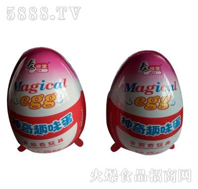 麦世发神奇趣味蛋盒(大蛋1*18)