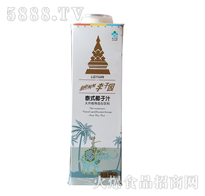 李子园泰式椰子汁600ml