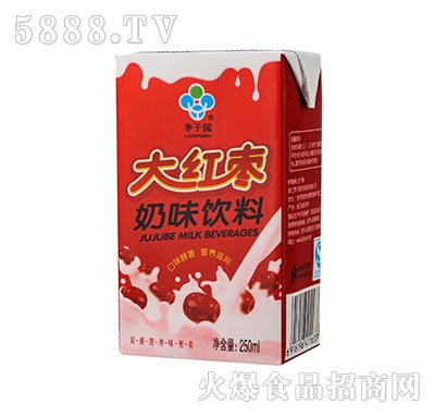 李子园大红枣牛奶250ml