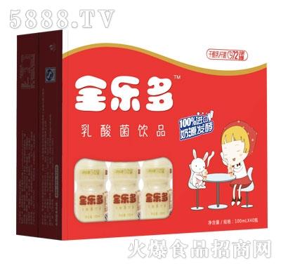 全乐多乳酸菌饮品100mlx40