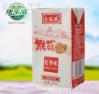 250ml长坂坡猴菇养生奶(红枣味)