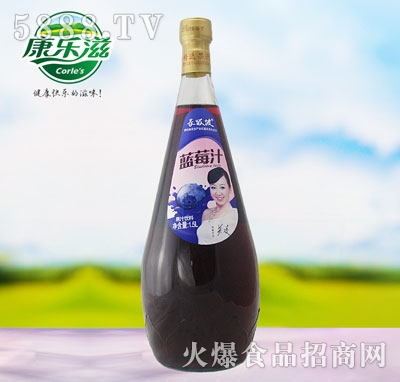 1.5L长坂坡蓝莓汁