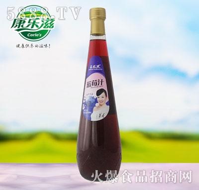828ml长坂坡蓝莓汁