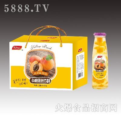 美格丝黄桃果粒饮料288mlX10瓶