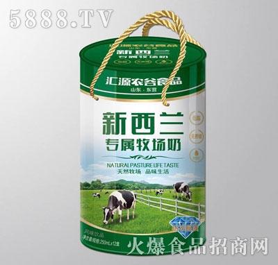 250mlx12盒养参堂新西兰牧场奶(绿)圆桶装