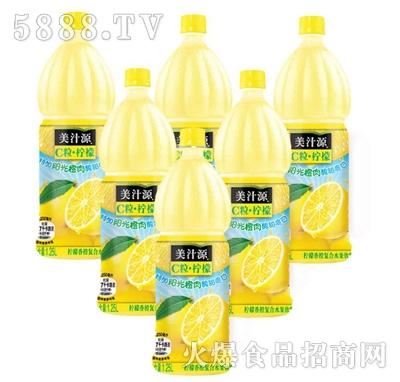 美汁源C粒柠檬饮料