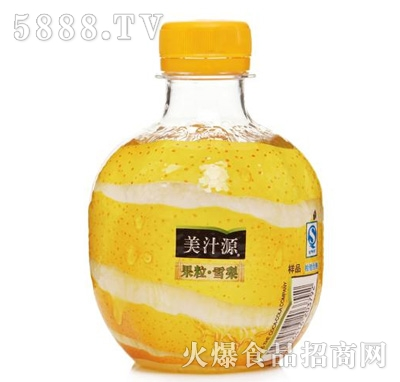 美汁源果粒雪梨饮料260ml