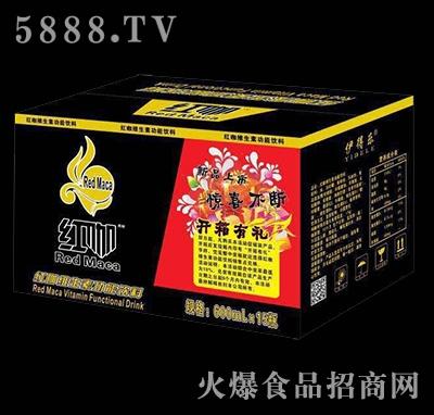 600mlx15瓶红咖维生素功能饮料