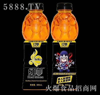 600ml红咖维生素功能饮料