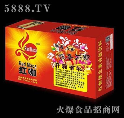 250mlx24罐红咖维生素功能饮料