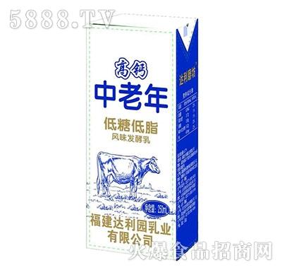 福建达利园乳业中老年高钙奶200ml