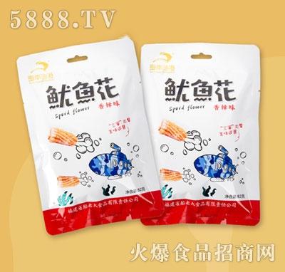 闽南鱼港鱿鱼花香辣味82g
