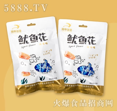 闽南鱼港鱿鱼花卤香味82g
