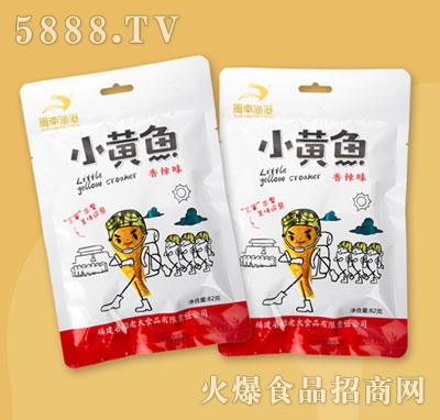 闽南鱼港小黄鱼香辣味82g