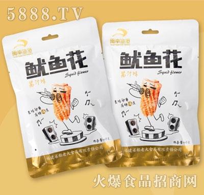 闽南鱼港鱿鱼花酱汁味48g