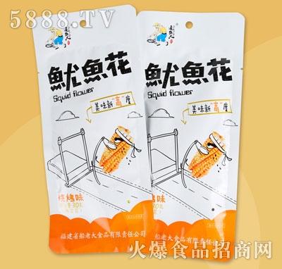 追鱼人鱿鱼花烧烤味30g(袋中袋)