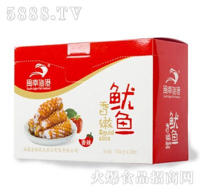 闽南渔港香嫩鱿鱼香辣味盒装