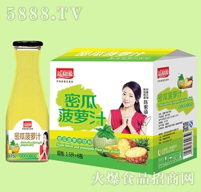 1.5Lx6瓶益和源密瓜菠萝汁