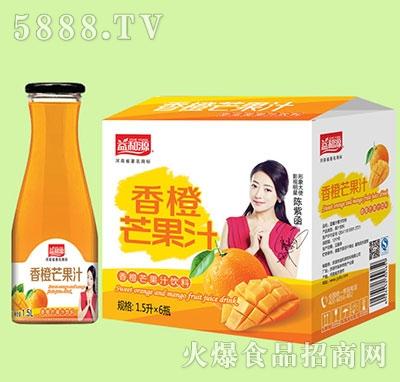 1.5Lx6瓶益和源香橙芒果汁