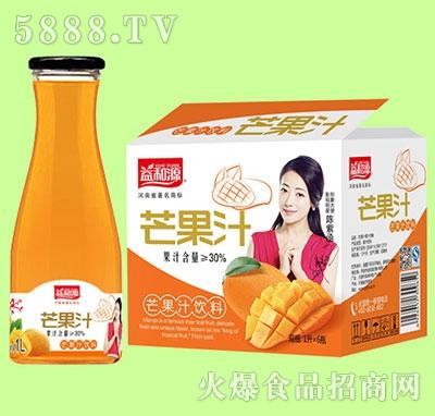 1Lx6瓶益和源大口芒果汁