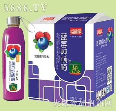 1Lx6瓶益和源蓝莓炖杨梅