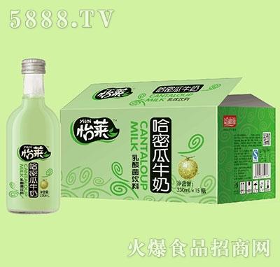 怡莱哈密瓜牛奶乳酸菌饮料330mlx15瓶