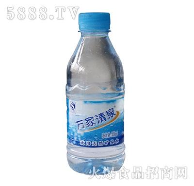 330ml万家清泉矿泉水